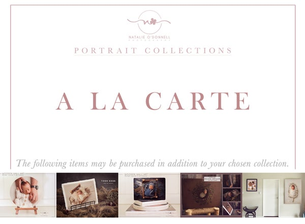 Image of A LA CARTE PRODUCT MENU {from}