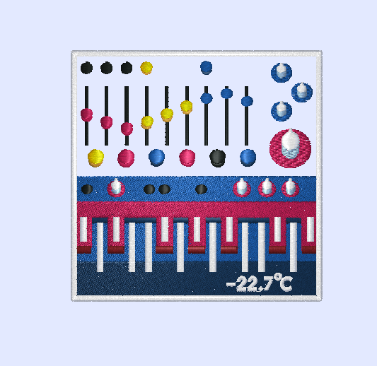 "Image of    Molecule's ""Greenland Expedition Patch"" by Bonhomme #Buchla"
