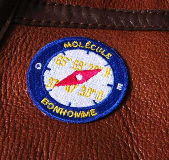 "Image of Molecule's ""Greenland Expedition Patch"" by Bonhomme #boussole"