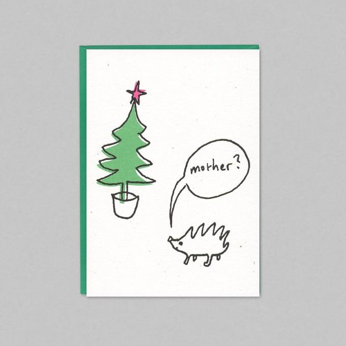 Image of HEDGEHOG - CHRISTMAS CARD PACK (5 CARDS)
