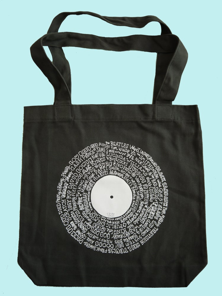 Image of LOST IN MUSIC TOTE