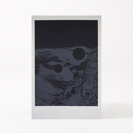 Image of MOONSCAPE BLACK
