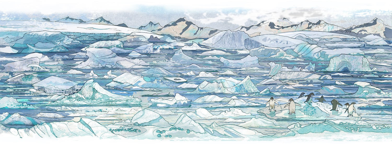 Image of North Cove - Rothera - Antarctica