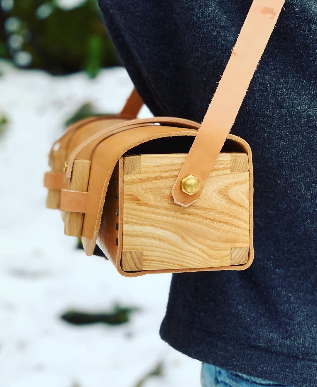 "Image of The ""Melton"" Leather Bag"