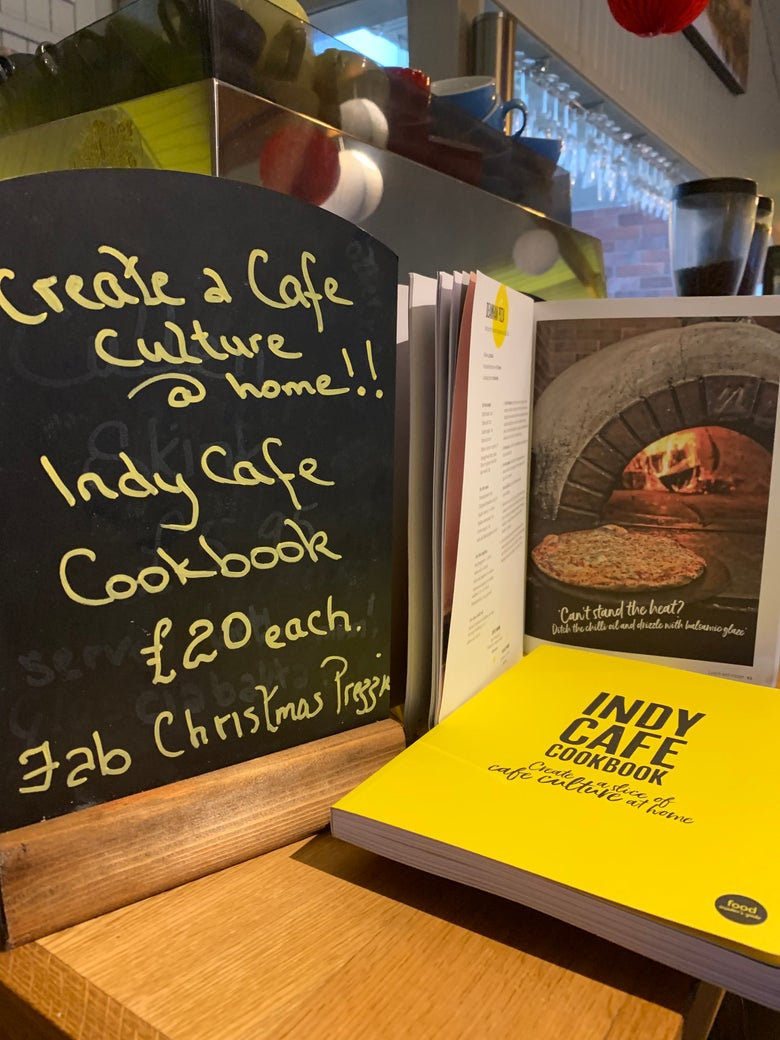 Image of Indy Cafe Cookbook