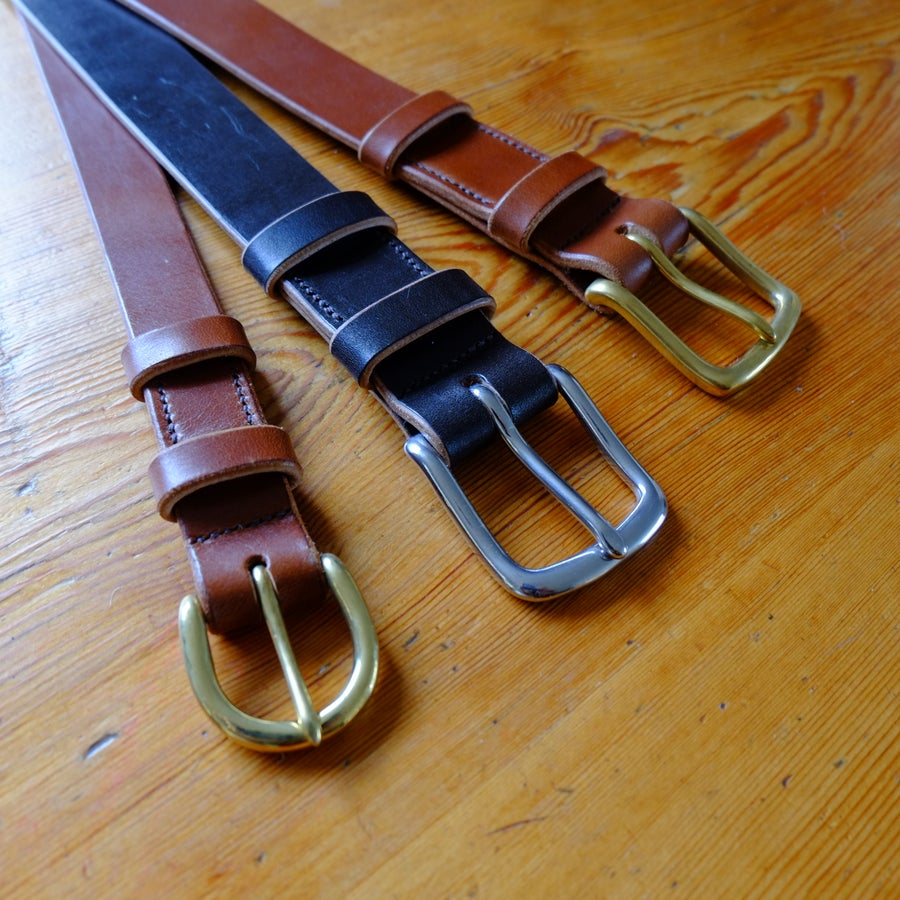 Image of Full Grain Bridle Leather Belt