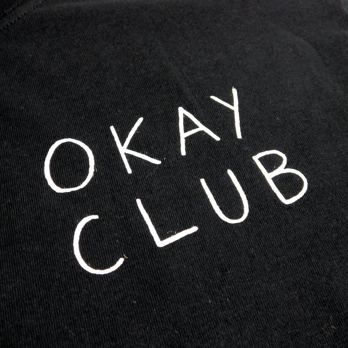 Image of Okay Club Tee Black