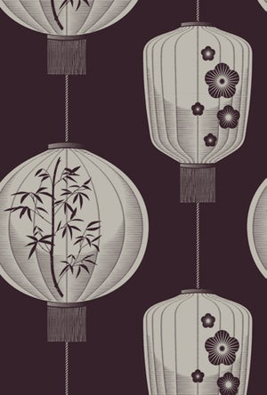 Image of Lucky Lantern - Winter Plum