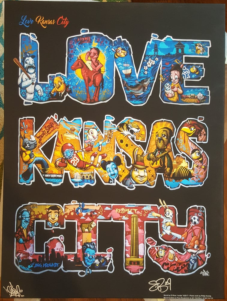 Image of LOVE KANSAS CITY by SCRIBE