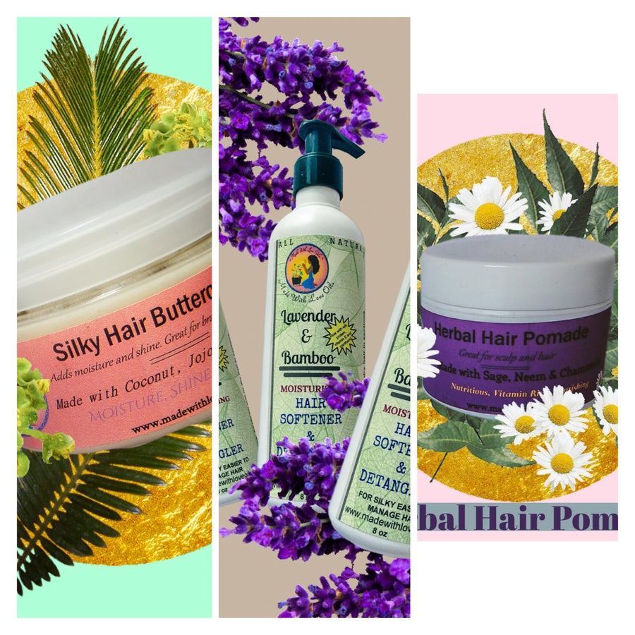 Image of Combo #2 Hair Care - Conditioner, Pomade, Buttercream