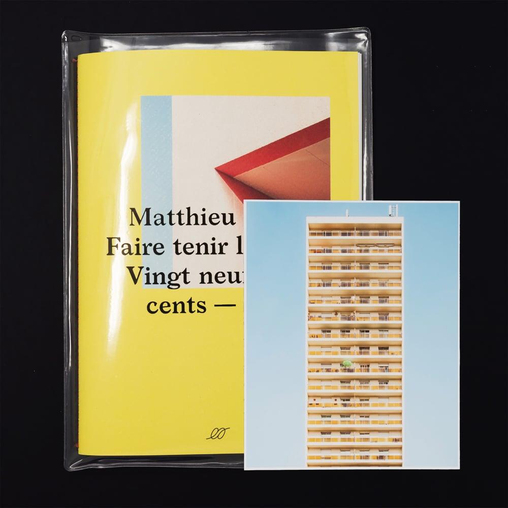Image of Matthieu Venot — Faire tenir les murs (tirages de tête — 10 copies)