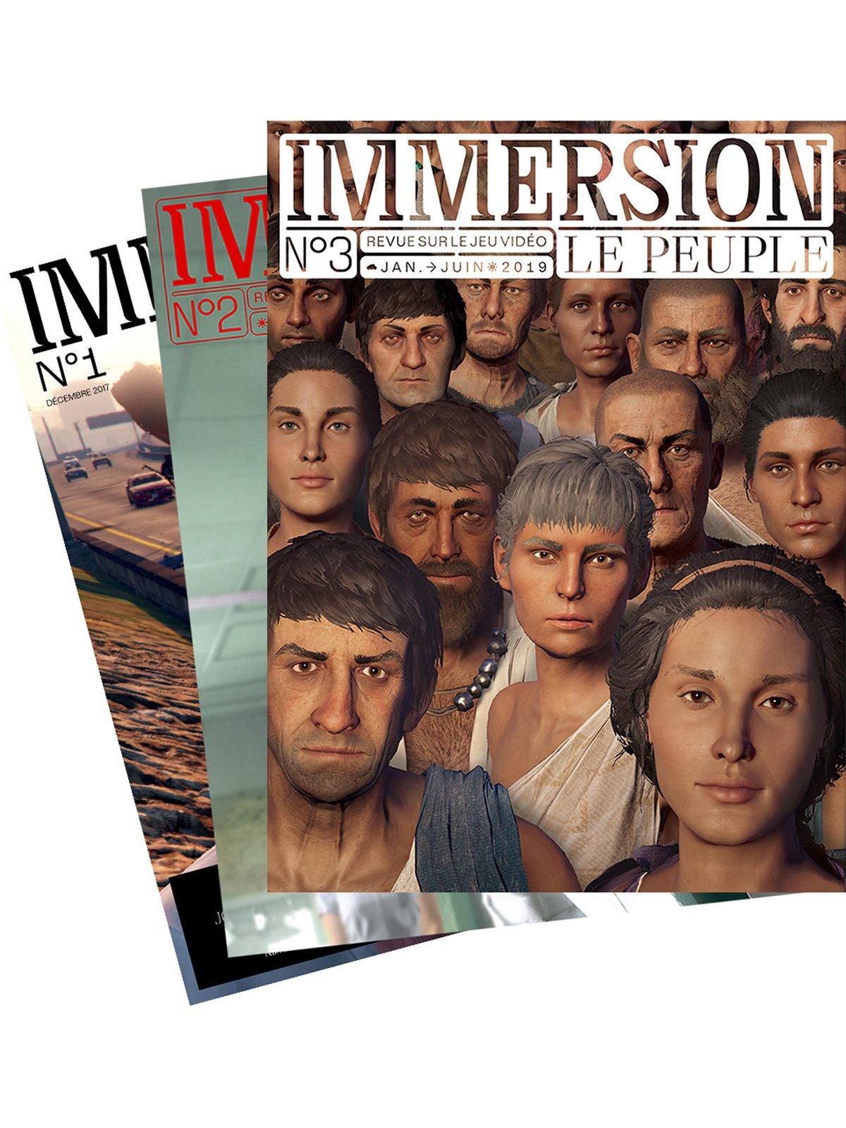Image of IMMERSION megapack / TROIS NUMÉROS