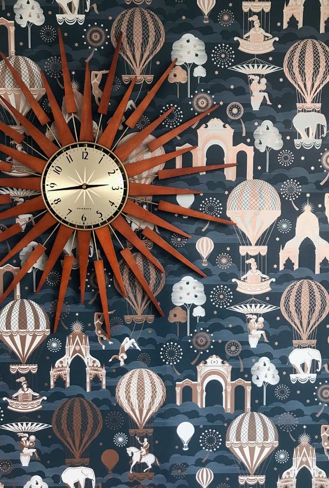 Image of Pleasure Gardens - Midnight & Copper