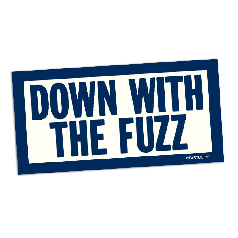 Image of Fuzz Sticker