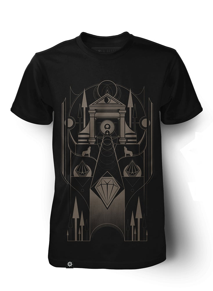 Image of The Temple - black
