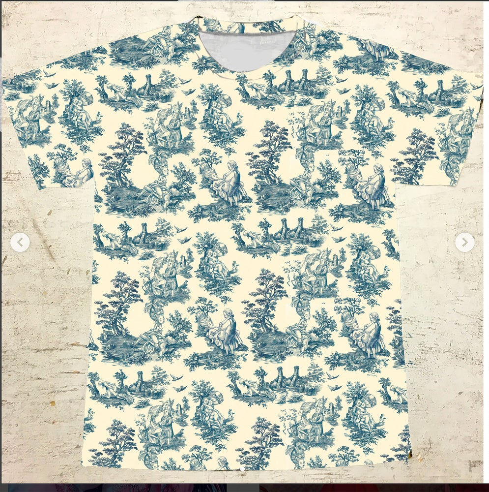 Image of T-Shirt Toile de Jouy