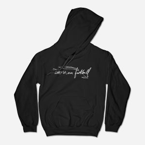 Image of Scribble Hoodie (Black)