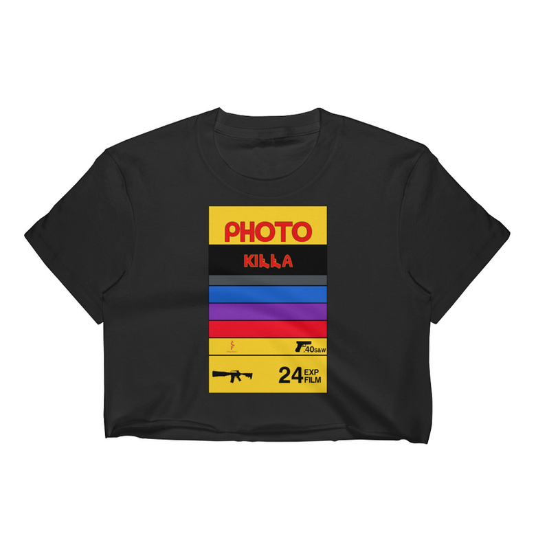 Image of PHOTO KILLA CROPTOP TEE