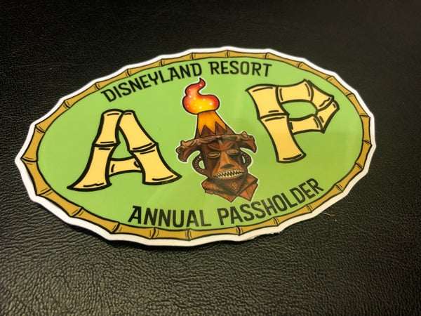 Image of Custom Disneyland Resort A.P. Vinyl Sticker