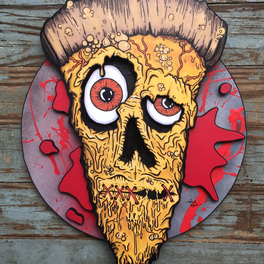 Image of Pizza Skull