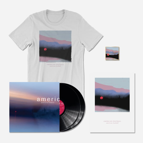 Image of PRE-ORDER (LP3) Deluxe Bundle: 180-Gram Deluxe Black 2xLP + T-Shirt + Poster + Pin [Ships 3/22/19]