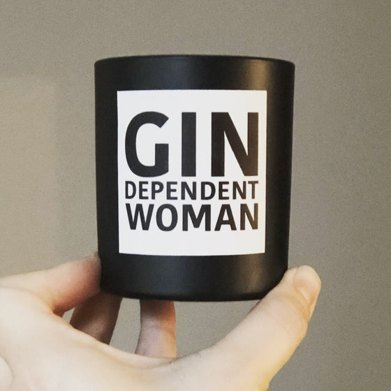 Image of Gin dependent woman