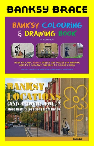 Image of Banksy Brace - 2 Banksy books for a silly price!