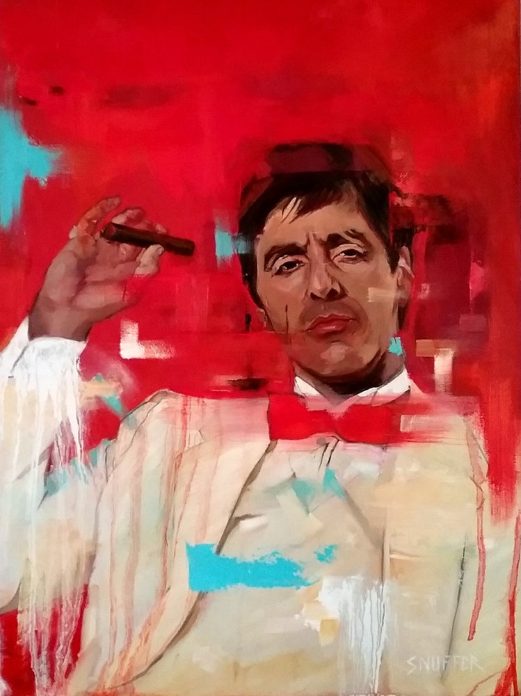 "Image of Tony Montana ""SCARFACE"""