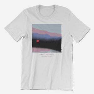 Image of PRE-ORDER (LP3) Deluxe Bundle: 180-Gram Light Blue LP + T-Shirt + Poster + Pin [Ships 3/22/19]