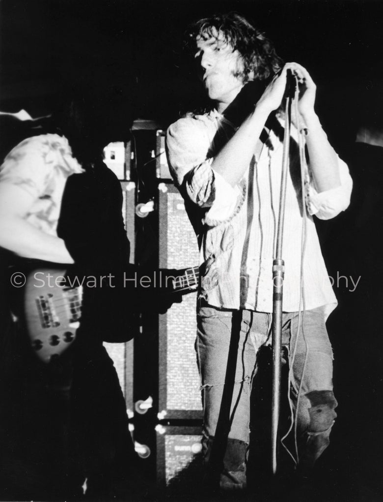 Image of Roger Daltrey/John Entwistle (The Who, Forest Hills Stadium, 1971) : Limited Edition Fine Art Print