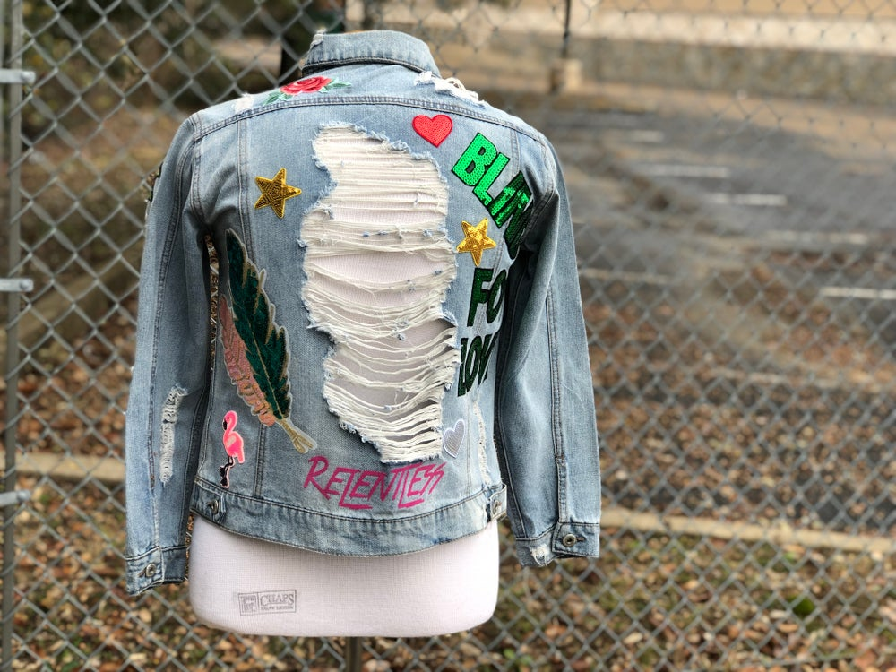 Image of Relentless Custom Denim Jacket