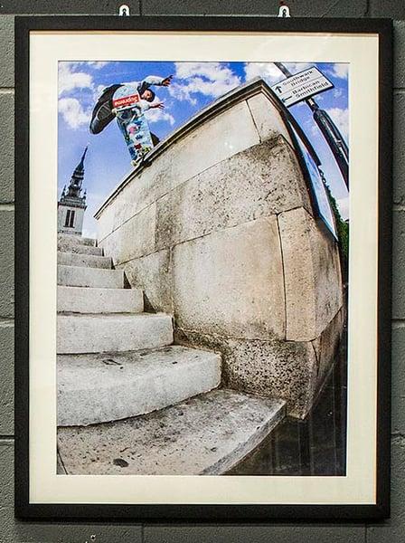 Image of Kyron Davis - Spanish Grind - A1 C-Type Satin Matte Print - Black Matte Frame