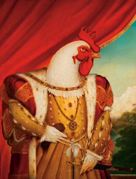 "Image of 'Chicken King' 11"" X 14"" Archival Print"