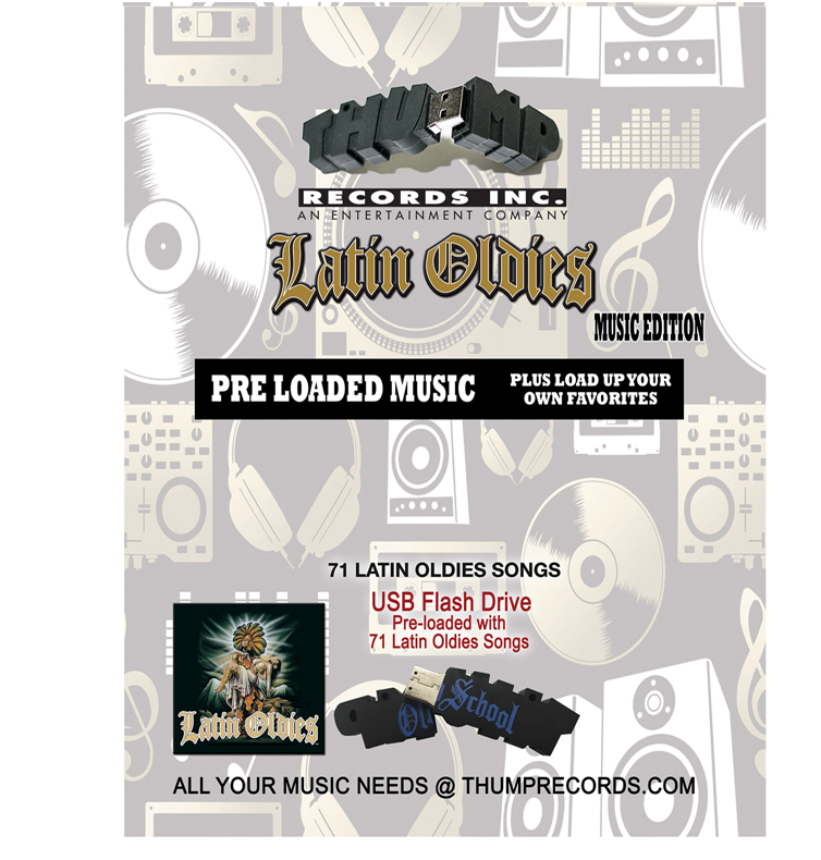 Image of Latin Oldies Pre-loaded Music USB