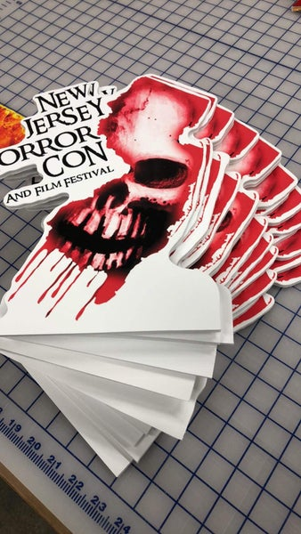 Image of NJ HORROR CON MINI STANDEE