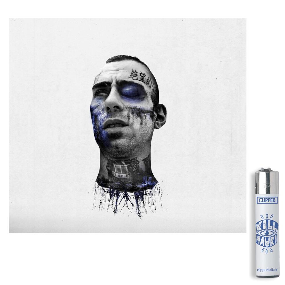 Image of Sangue Blu Album + Accendino Kit