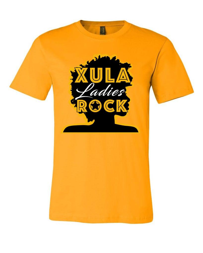 9a9e7cbb XU Ladies Rock T-Shirt | Cicely's Jazzy Art