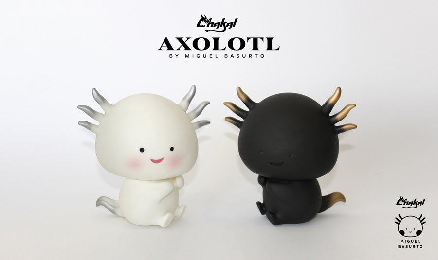 Image of AXOLOTL BLACK AND WHITE SET
