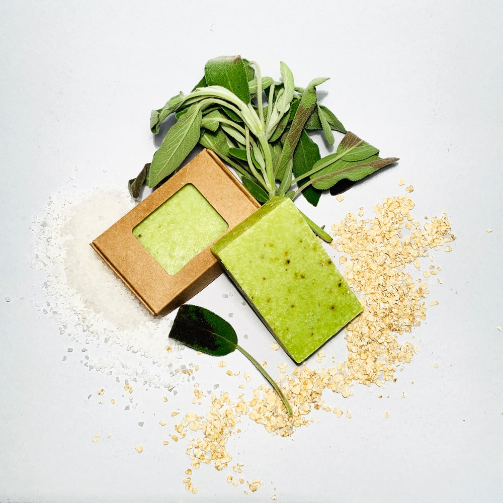 Image of Sage & Wakame Scubbing Beauty Bar