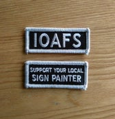 Image of IOAFS + Support Your Local Sign Painter Patch