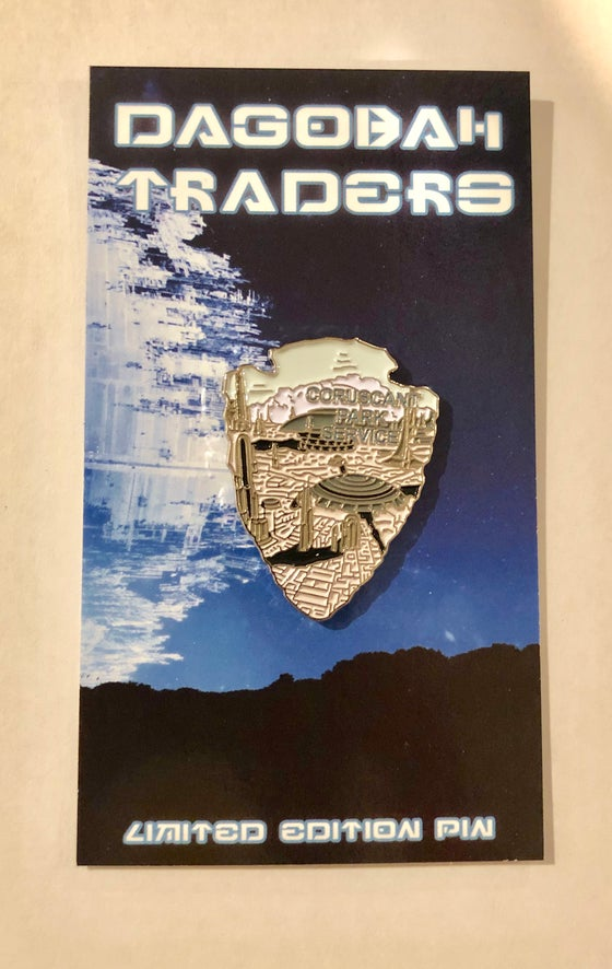 Image of Star Wars Park Service Series 2 Pin - #2 Coruscant