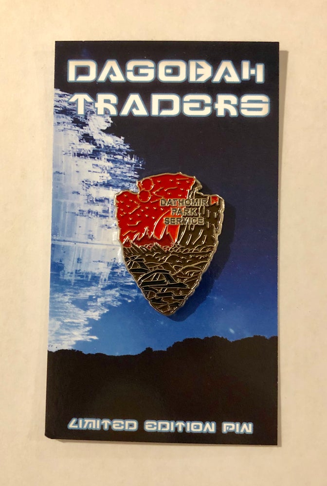 Image of Star Wars Park Service Series 2 Pin - #3 Dathomir