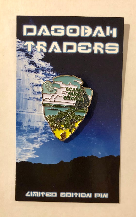 Image of Star Wars Park Service Series 2 Pin - #5 Scarif
