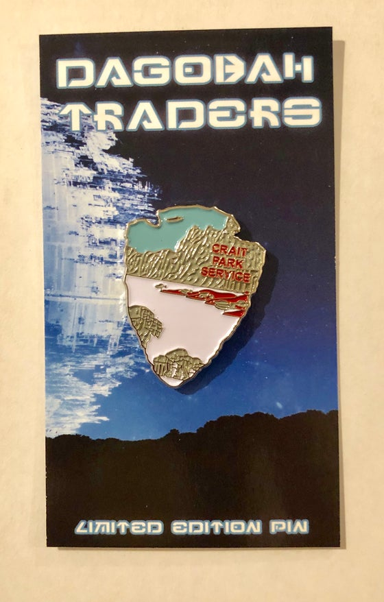 Image of Star Wars Park Service Series 2 Pin - #6 Crait