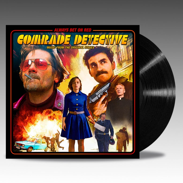 Image of Comrade Detective (Music From The Original Series) 'Black' Vinyl - Various Artists