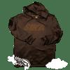 SIKA block hoodie. (Black on black hoodie)