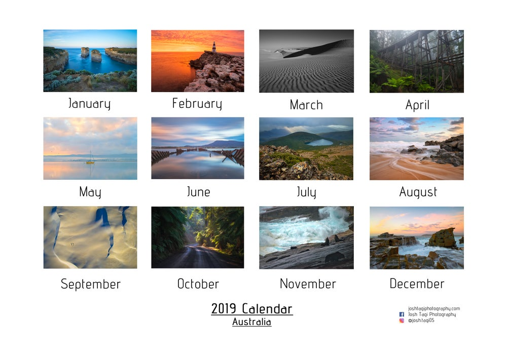 Image of 2019 Large Wall Calendar