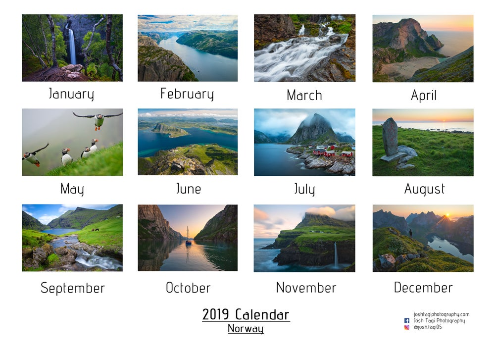 Image of 2019 Desk Calendar