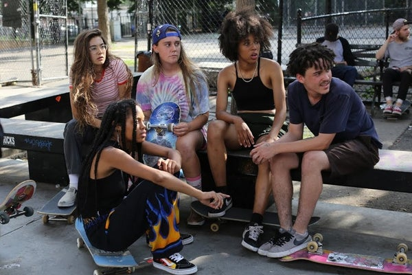 Image of She's En Scene: SKATE KITCHEN Women's Film Screening