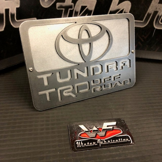 Image of Toyota Tundra TRD Off Road Two Layer Hitch Cover